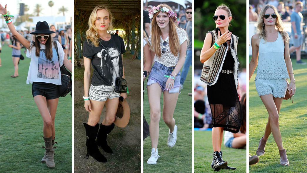 The Festival Look Welcome Back To Woodstock Style As Seen